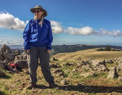 Cathy on Black Mountain