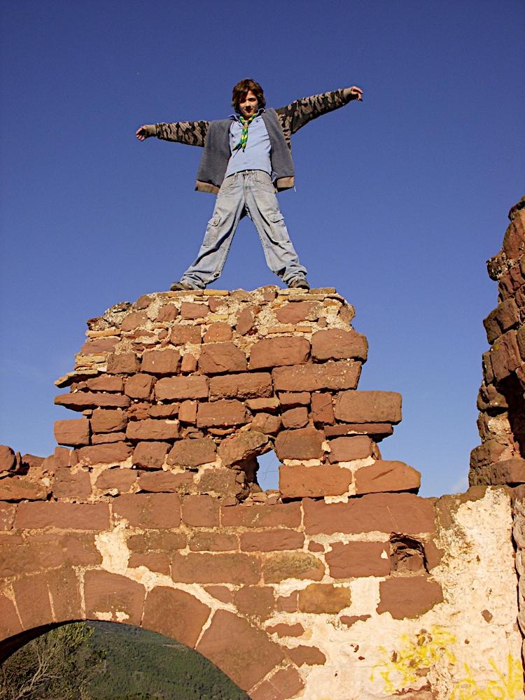 Sortida Castell Eramprunyà - Pioners 2009 - DSCN1024.jpg
