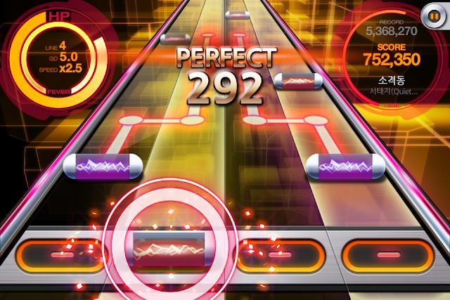 beat mp3 2.0 rhythm game android game screenshot