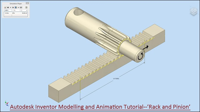 3D Solid Modelling Videos: Autodesk Inventor Modelling and Animation