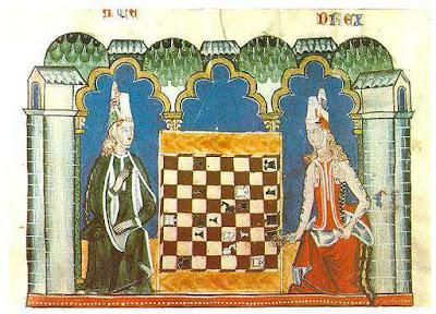 1283 Alfonso X El Sabio - Libro de los juegos - Monastery of San Lorenzo Spain