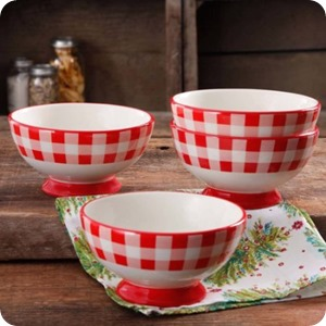red check bowls
