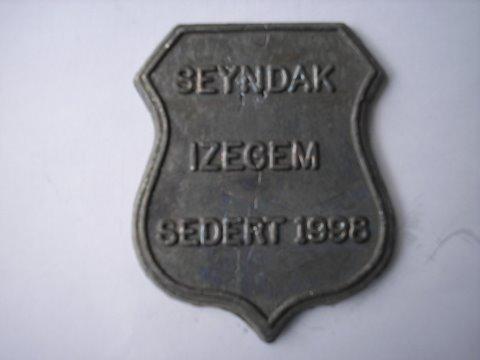 Naam: SeyndakPlaats: Izegem BelgieJaartal 1998