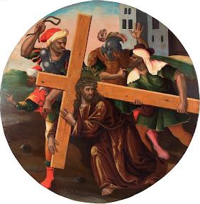 Несение креста. Икона из страстного ряда.