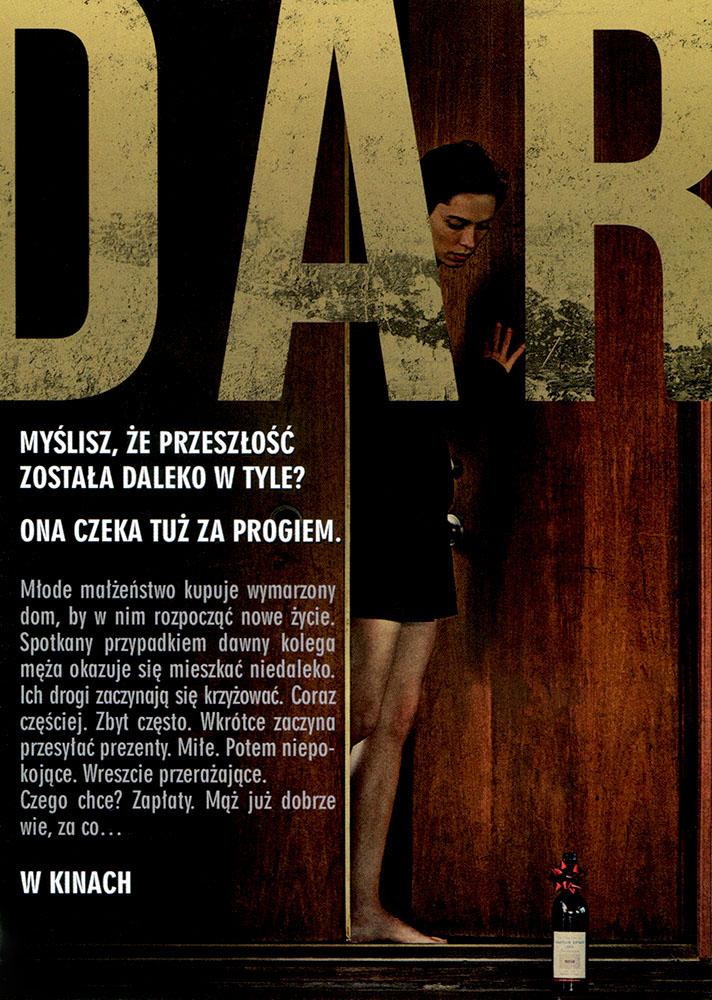 Ulotka filmu 'Dar (tył)'