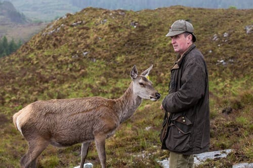 Colin Murdoch Highland experience deer and argo