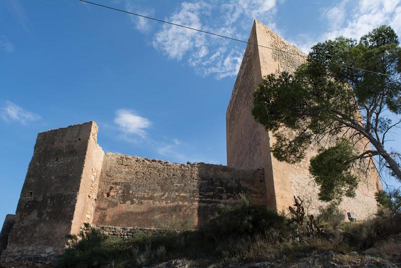 Castillo de la Mola y Santuario de la Magdalena en Novelda, alicante