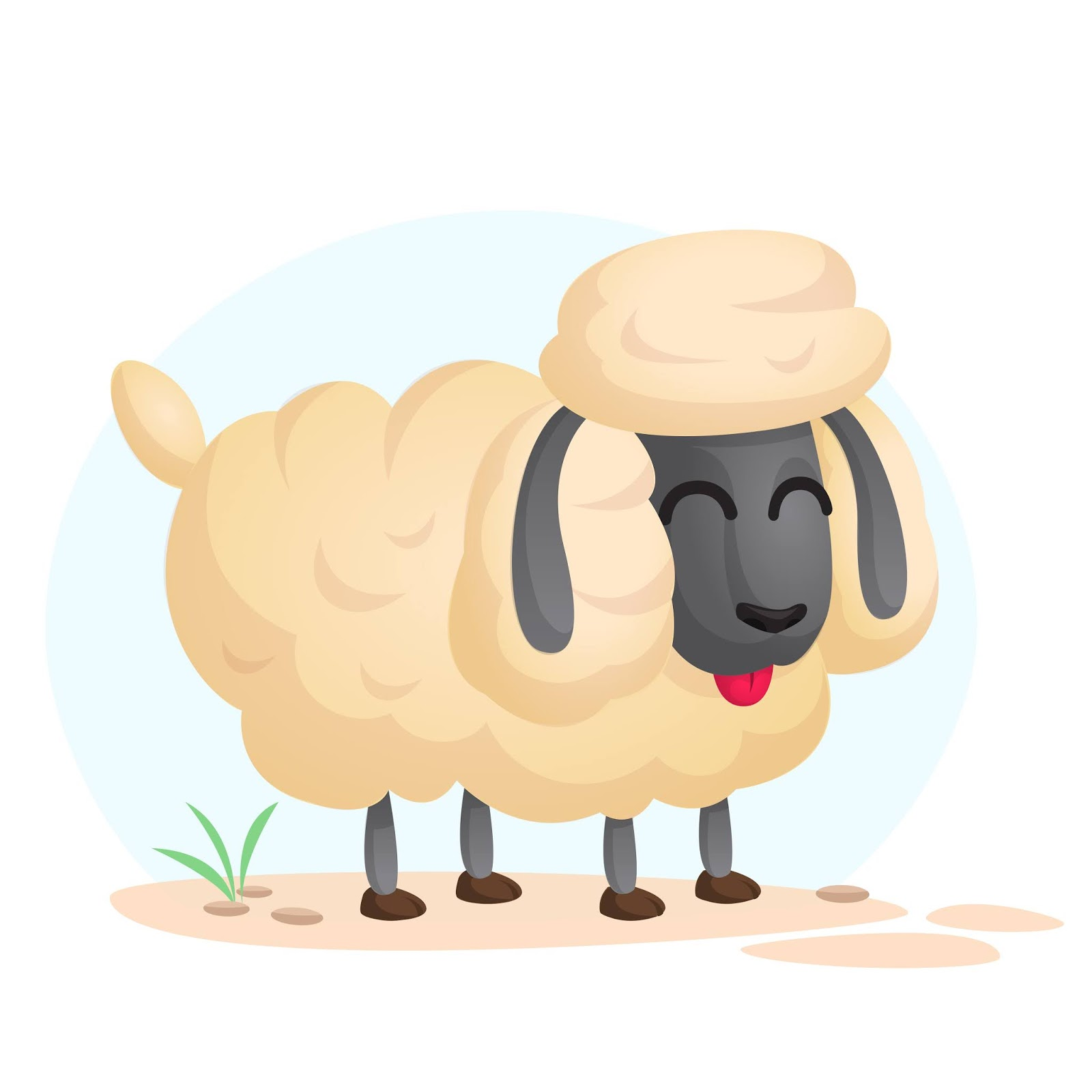 Sheep Free Download Vector CDR, AI, EPS and PNG Formats