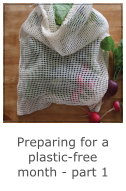 preparing for a plastic free challenge