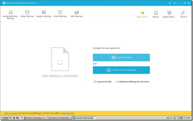 EaseUS Todo Backup Home 1