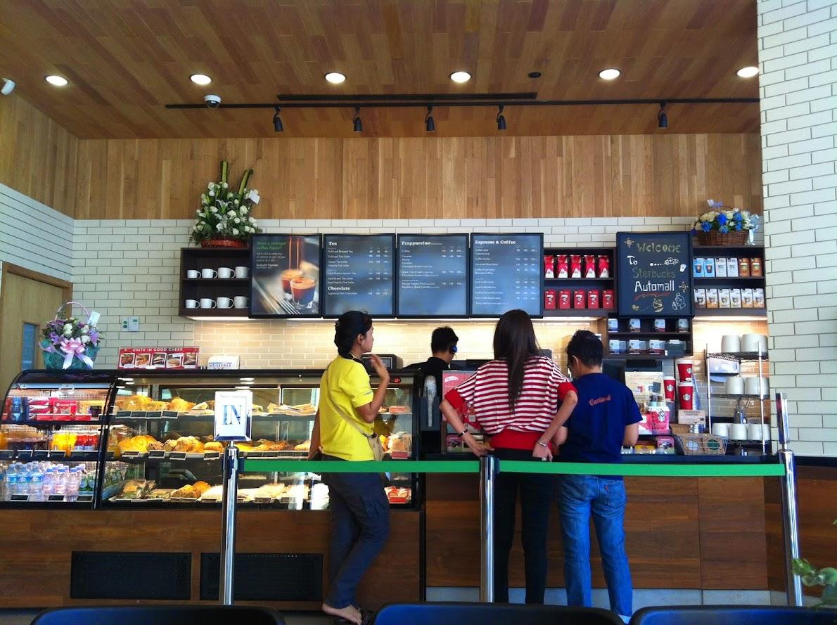 Starbucks drive thru Automall นวนคร_6