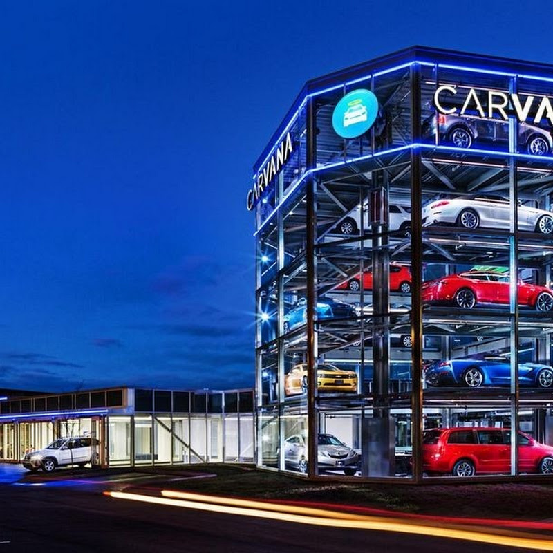 A Used Car Vending Machine in Nashville