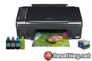 Resetting Epson TX115 printer Waste Ink Pads Counter
