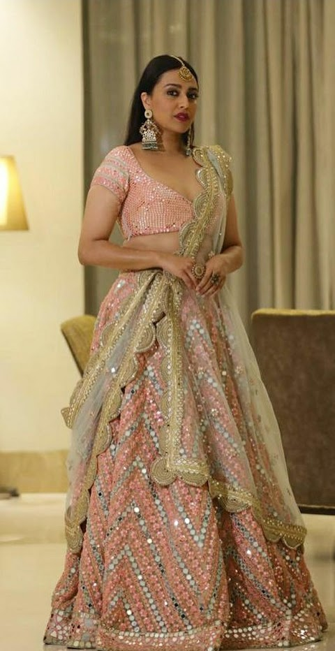 Trending Gorgeous Bridal Outfit Straight from Swara Bhasker Closet.