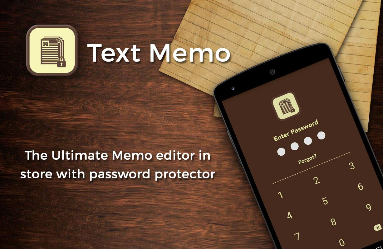 Text Memo- screenshot