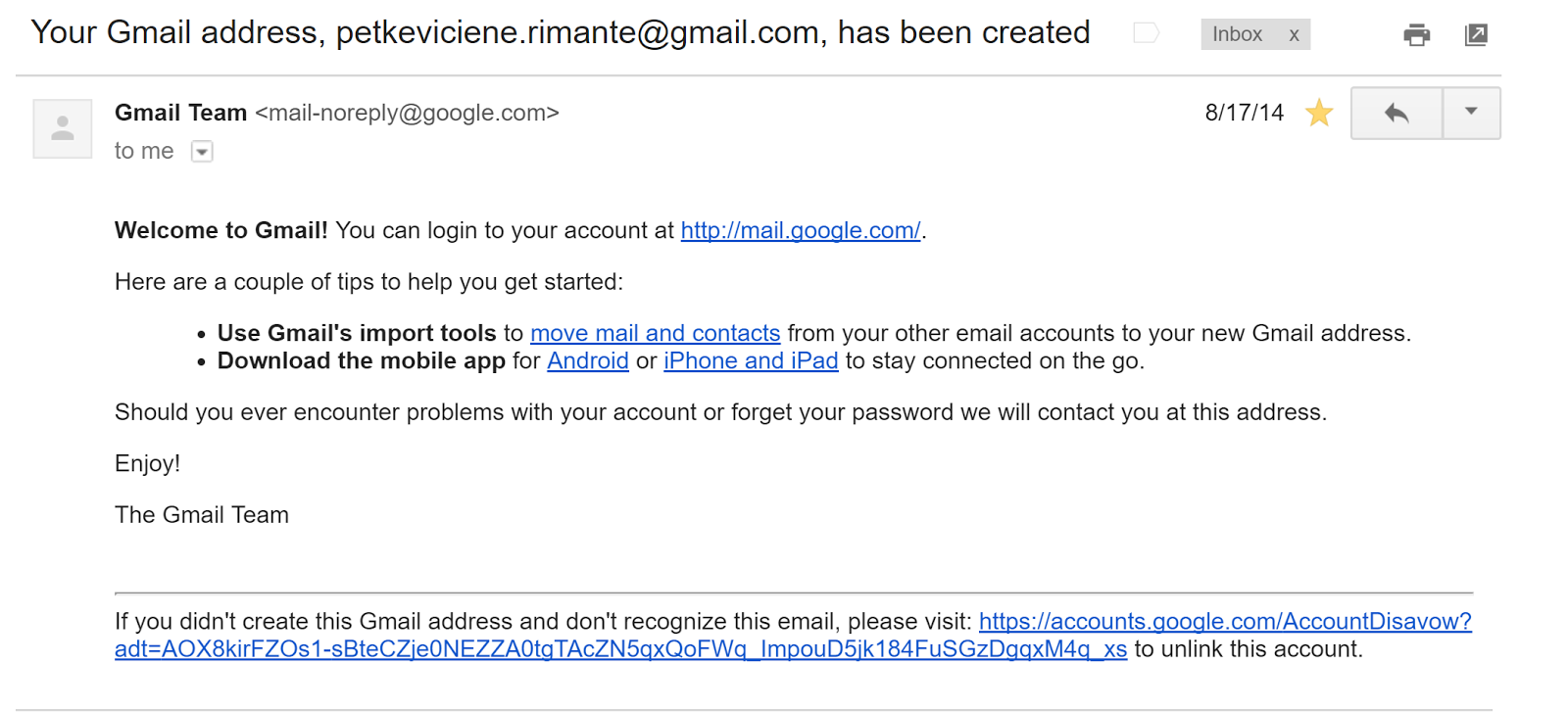 Google couldn't verify this account belongs to you  Please