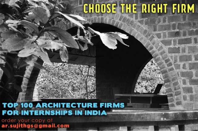 Architecture student 39 s corner the best architecture firms for Architecture firms for internship in india