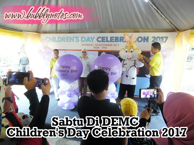 Sabtu Di DEMC Children's Day Celebration 2017