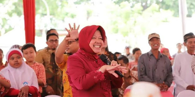 Risma Tanggapi Surabaya Jadi Zona Merah Sebaran Corona: Memang, karena PDIP