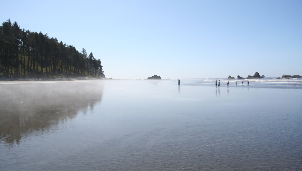 Ruby Beach at low tide