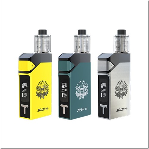 ijoy solo v2 1 thumb%25255B3%25255D - 【新製品】「IJOY SOLO V2 200W スターターキット」最大200WのVW/TCスターター。テイストコントロールつき
