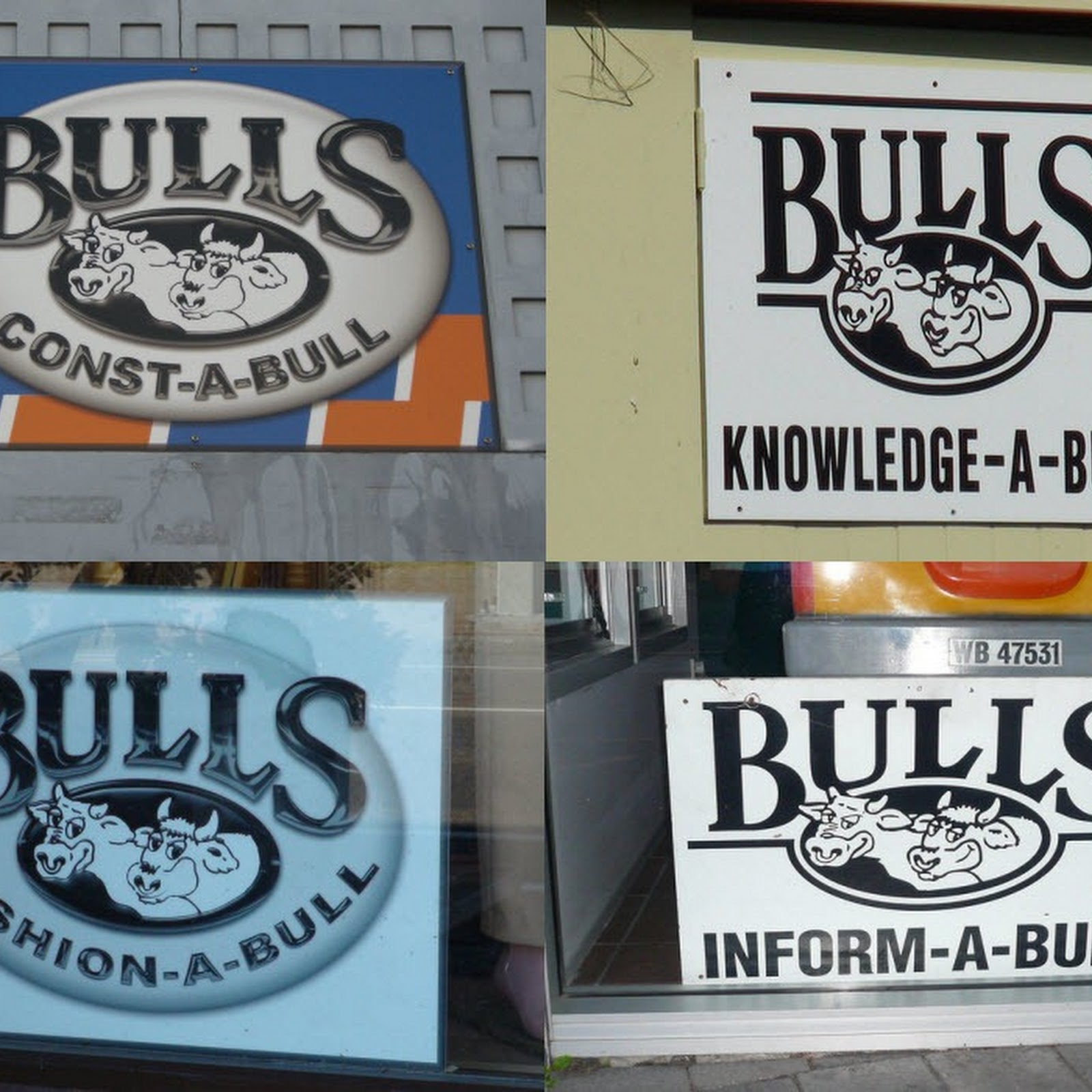 The Town of Bull Puns