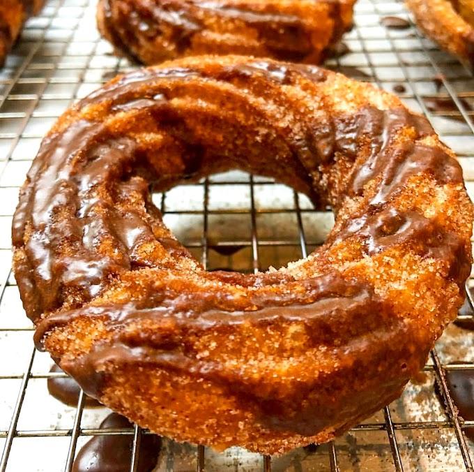 The Churro Doughnut/ Mexican Crullers Recipe | Breakfast Care