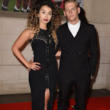 OIC - ENTSIMAGES.COM - Ella Eyre and Lewi Morgan at the  Carry Them Home - rugby dinner at the Grosvenor House London 5th August 2015 Photo Mobis Photos/OIC 0203 174 1069