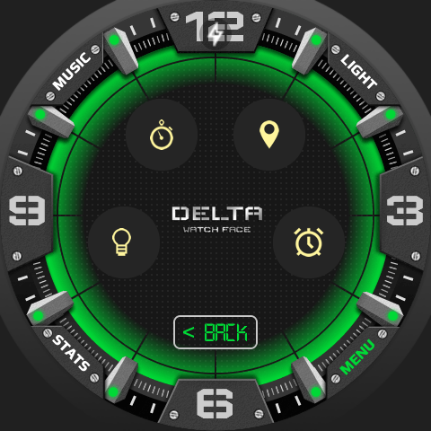Delta Watch Face- screenshot