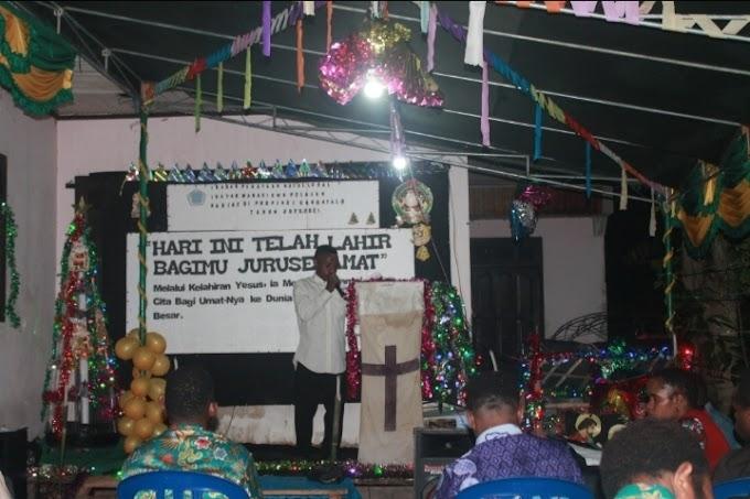 IMAPENAPANDODE Kota Studi Gorontalo Gelar Ibadah Perayaan Natal