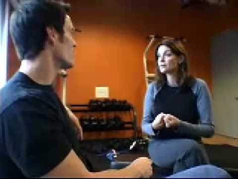 Tony Hortonwith Nutrition Expert Carrie Wiatt, Tony Horton