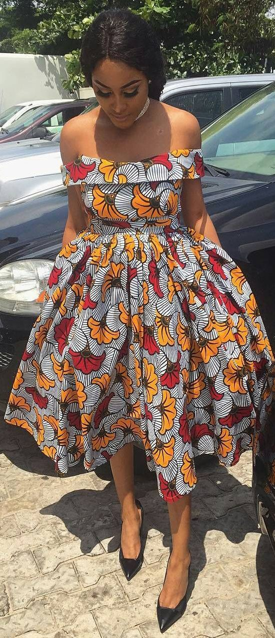 AFRICAN PRINT DRESSES STYLES FOR WOMAN 3