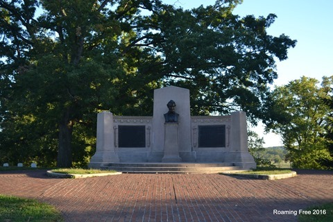Memorial to the Gettysburg Address