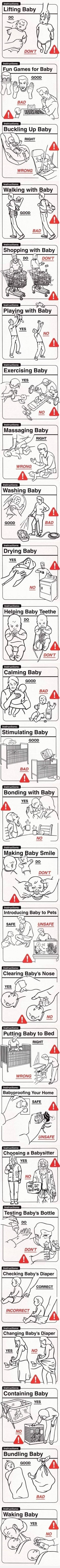 Instruction : Baby Do's And Don'ts