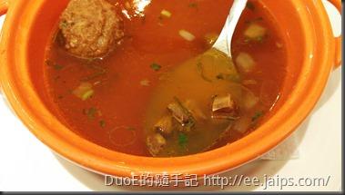 新竹西堤Tasty-牛肉丸清湯2
