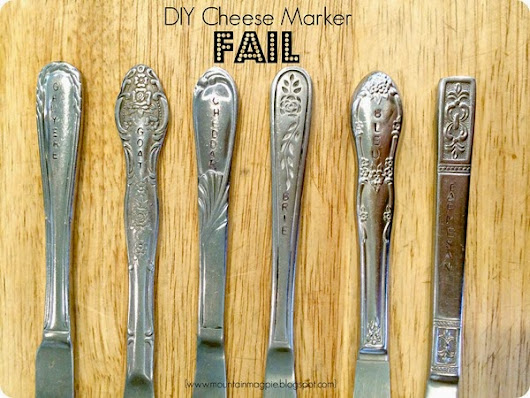 DIY Craft Fail: How to Screw up a Cheese Knife Set