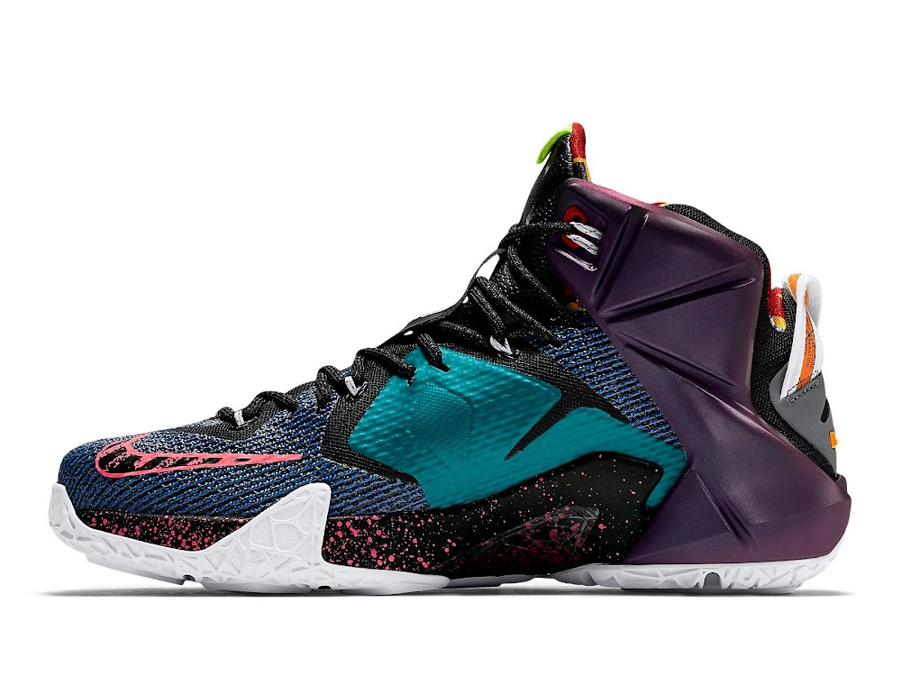 ... The Complete Makeover of the WHAT THE LeBron 12 ...