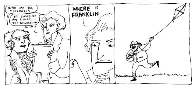 Hark A Vagrant - Ben Franklin Flies His Kite