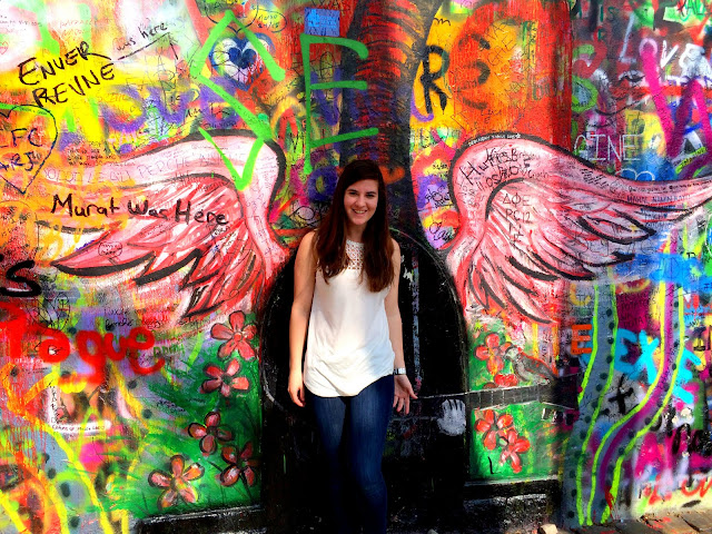 Elissa Wollins in Prague: #StudyAbroadBecause... you will regret not going