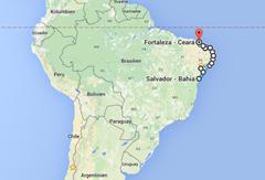 Salvador - Fortaleza 2