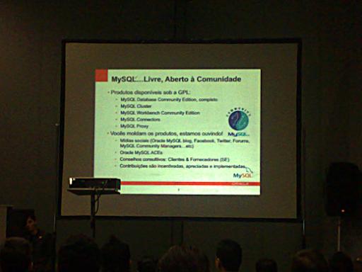 #FISL 12: novidades do #MySQL 5.5 e 5.6 2