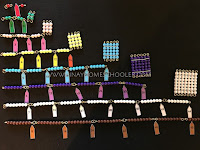 Learning The Square of a Number Using Montessori Short Bead Chain with Square