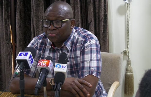 Fayose reveals reason he was not allowed to visit Buhari on London