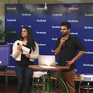 Sai Dharam Tej FB Live Pics