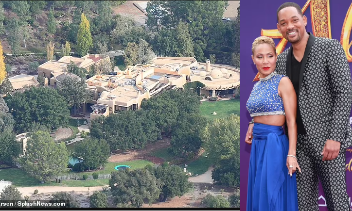 Fire breaks out at Will Smith and Jada Pinkett's $42M Calabasas home