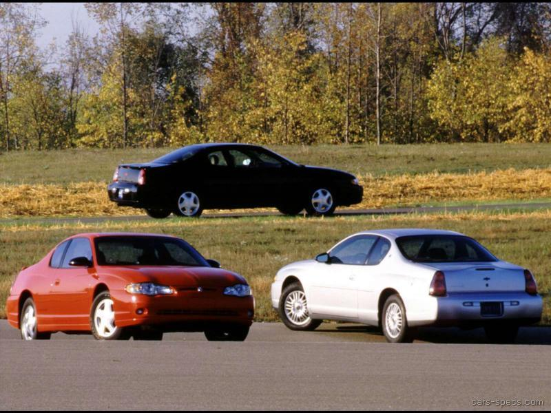 2000 chevrolet monte carlo coupe specifications pictures. Black Bedroom Furniture Sets. Home Design Ideas