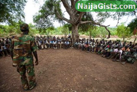 fulani terrorists training camp plateau