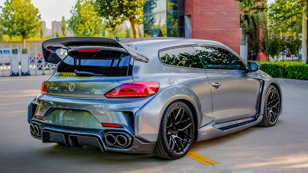 VW Scirocco R by ASPEC china