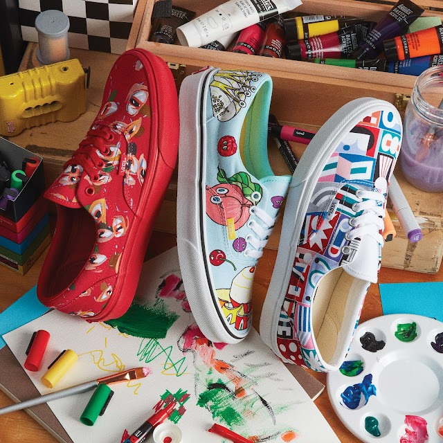 Ya disponibles Los VANS de Juan Carlos Loyo, ganador del Global Custom Culture