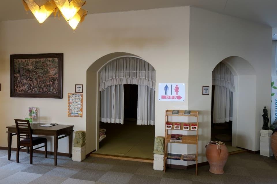 シーサイドスパ 仮眠室